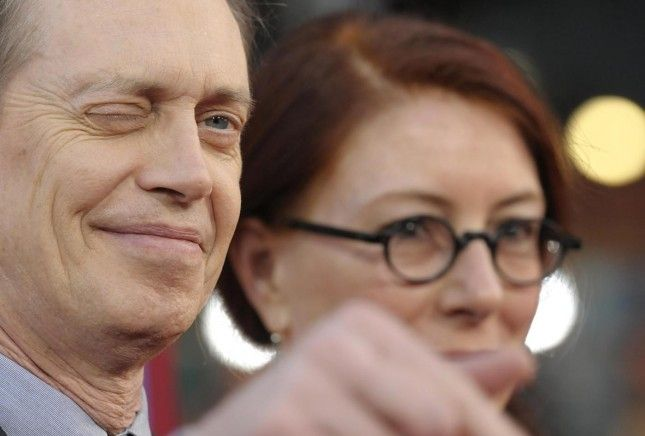 Steve Buscemi. Prima del film The Incredible Burt Wonderstone