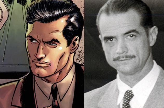 Tony Stark (Ironman) Howard Hughes