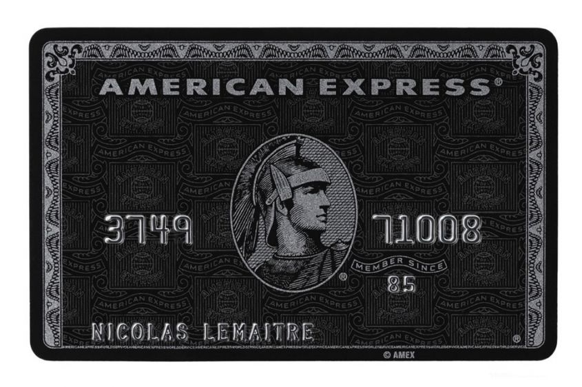 Express Centurion card