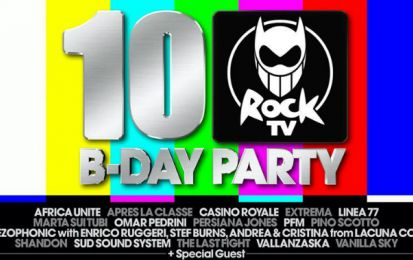 Rock TV Birthday Party 2011: all'Alcatraz di Milano 10 anni di rock italiano