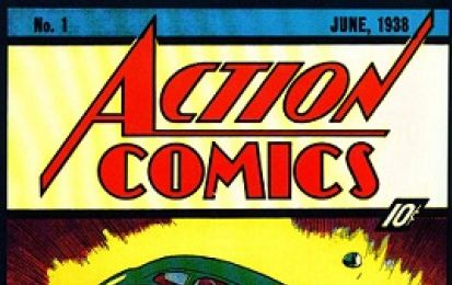 Superman, asta record per il primo numero di Action Comics