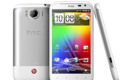HTC Sensation XL: musica di qualità