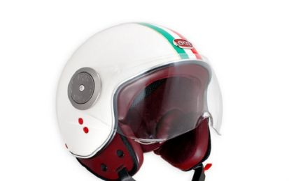 BKR Italian Limited Edition: casco jet made in Italy
