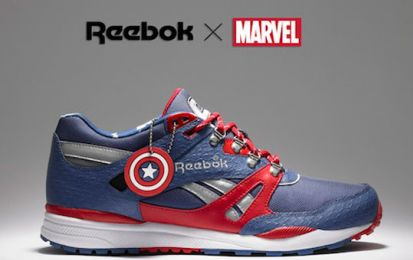 Scarpe Reebok Marvel Collection: supereroi ai piedi