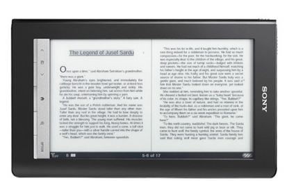 Sony PRS-T2, ereader multitouch con supporto Android