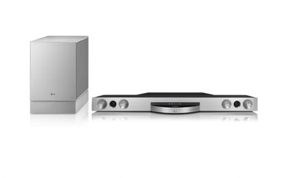 LG SoundBar: Blu Ray 3D e suono surround per Natale 2012