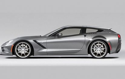 Callaway AeroWagon, un kit shooting brake per la Corvette Stingray [FOTO]