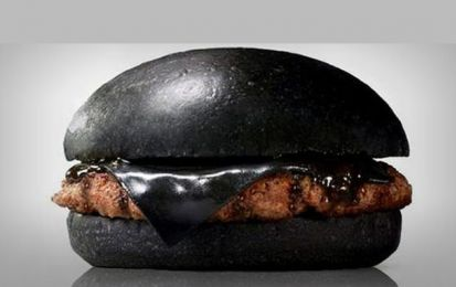 Burger King: l'hamburger si veste di nero per una limited edition