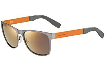 Boss Orange Sunglassses Metal Square BO 0197S 7ZL 57 amazon prime day 2017