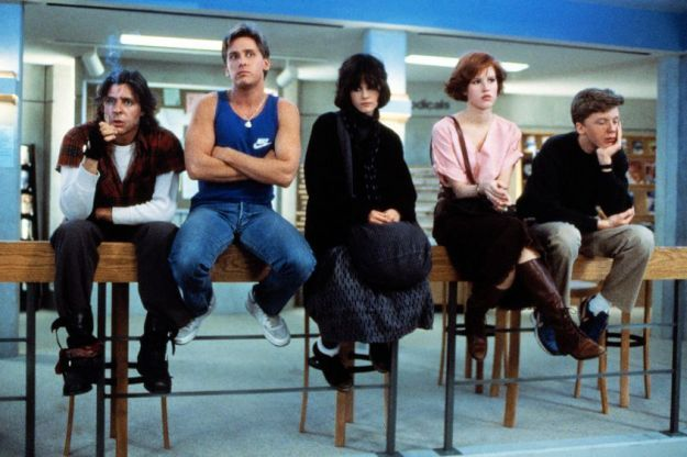 Con un cast di teenager, Breakfast Club immancabile tra i 10 titoli