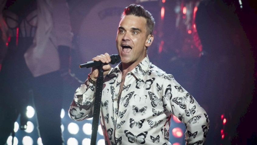 Capelli Robbie Williams