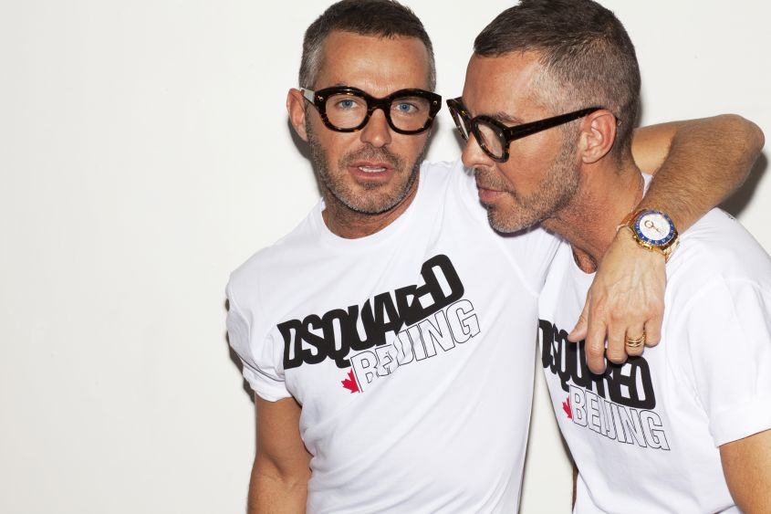 Dsquared2 party feste milano fashion week uomo 2017