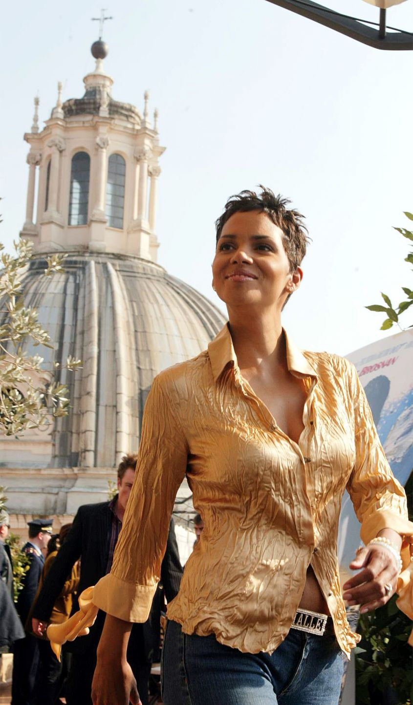 Halle Berry con Catwoman