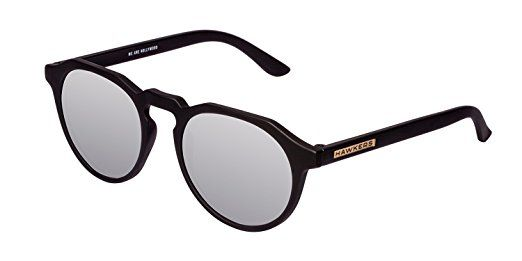 Hawkers Carbon Black Chrome Warwick, Occhiali da Sole Uomo Donna