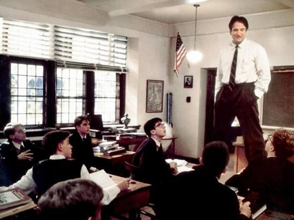 L'Attimo Fuggente Robin Williams