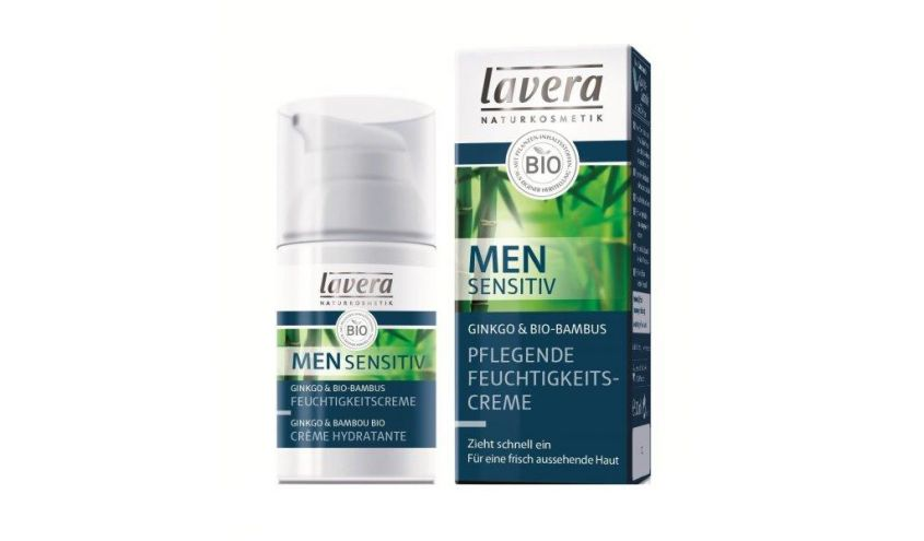 Lavera Men idratante nutriente sensibile