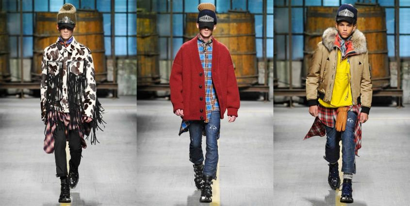 Look uomo Dsquared2
