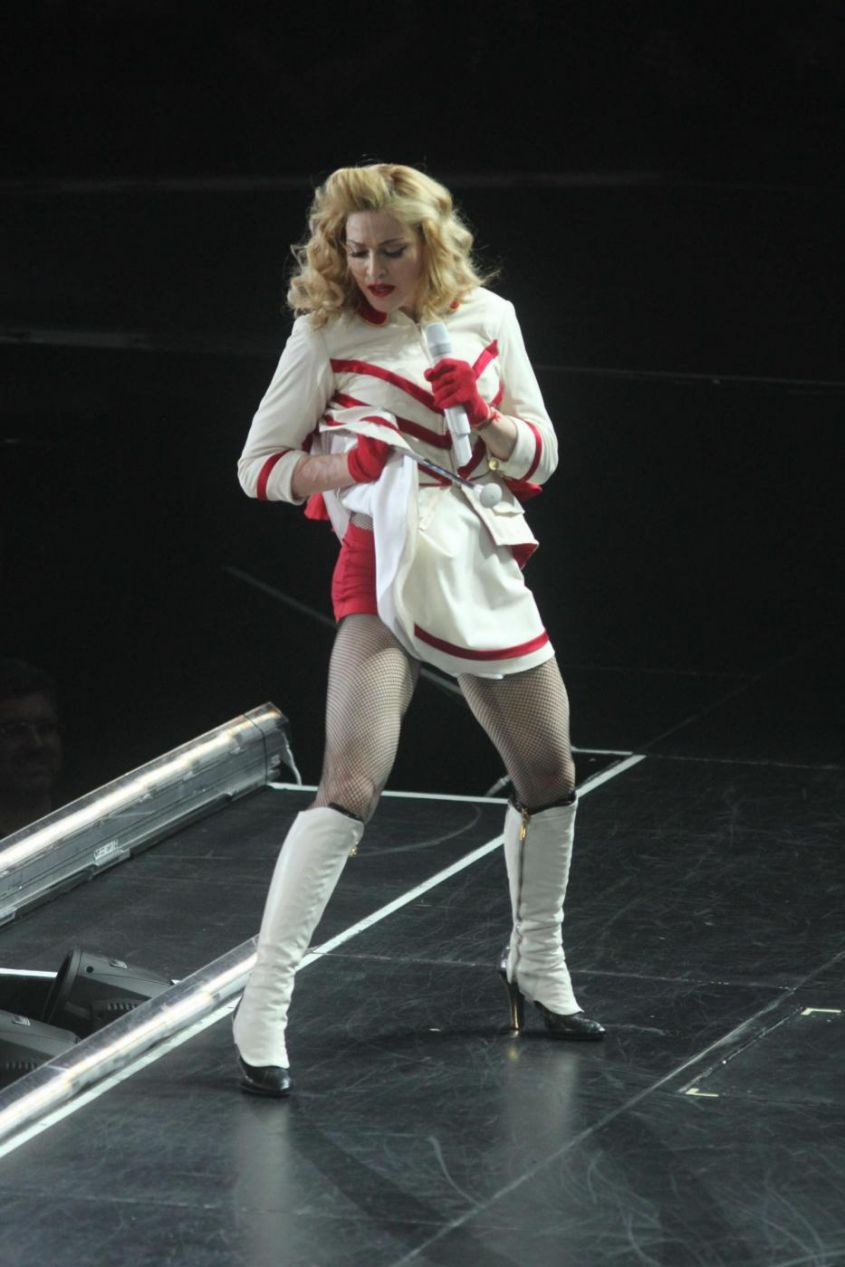 New York, Madonna in concerto al Madison Square Garden
