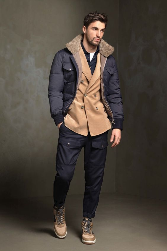 outfit uomo inverno casual