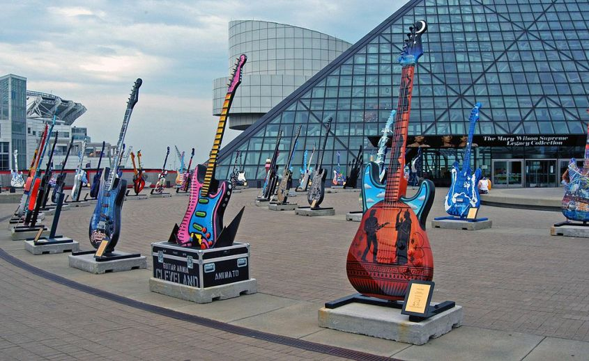 Rock'n'roll hall of fame cleveland