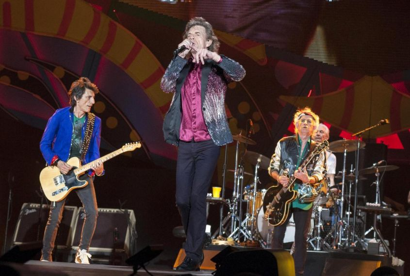The Rolling Stones in concerto