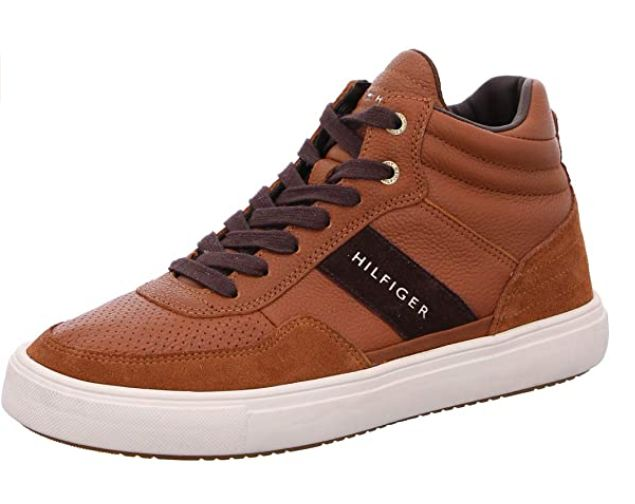 Sneakers alte uomo tommy hilfiger