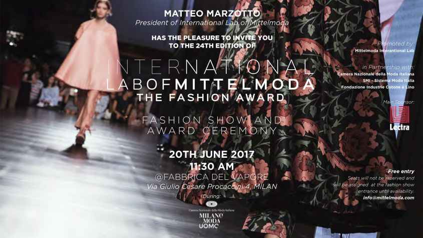 THE INTERNATIONAL LAB OF MITTEL MODA  eventi men's fashion week milano