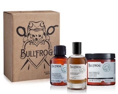 regalo beauty uomo natale 2018 Bullfrog