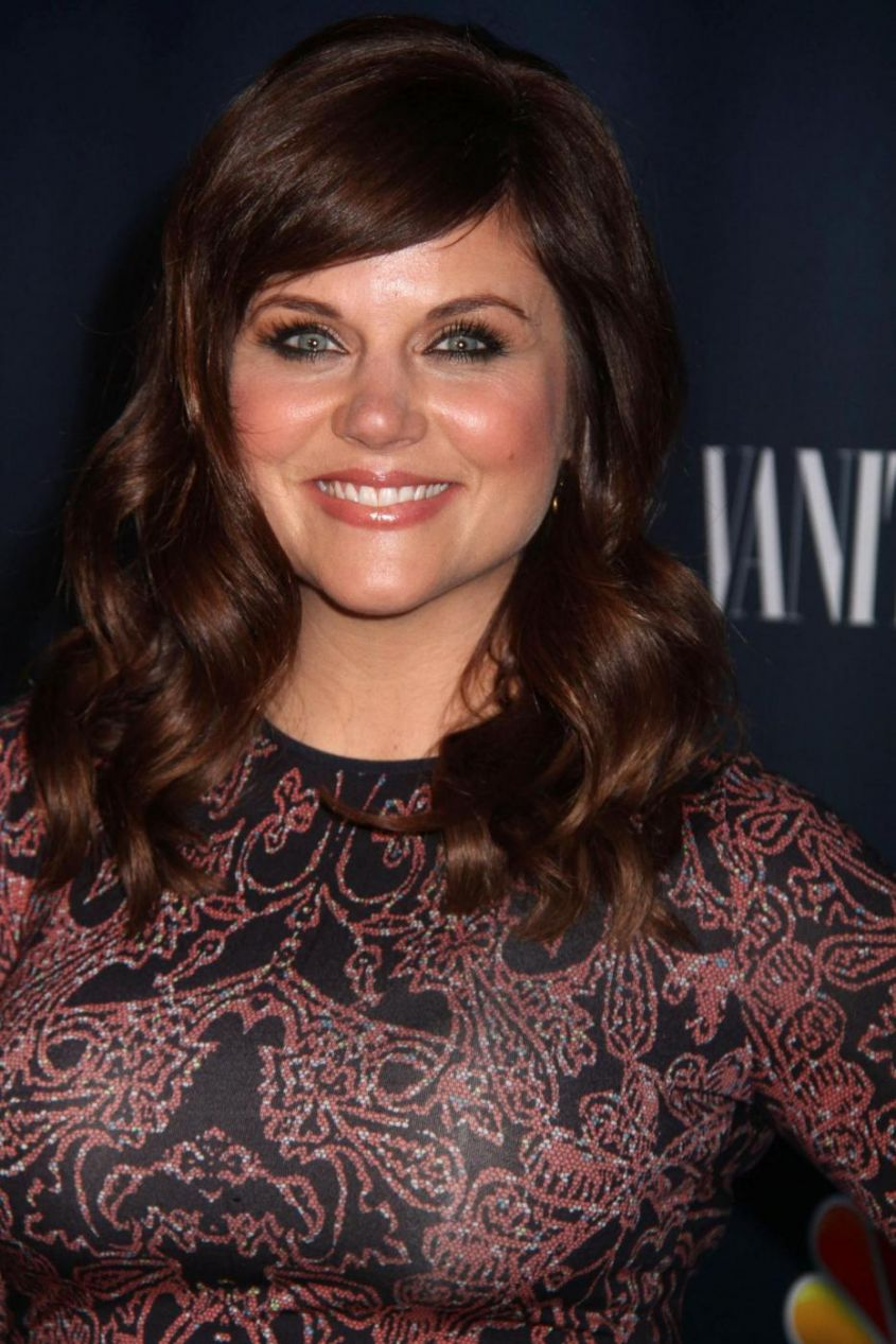 Tiffani Thiessen Vanity Fair party a New York