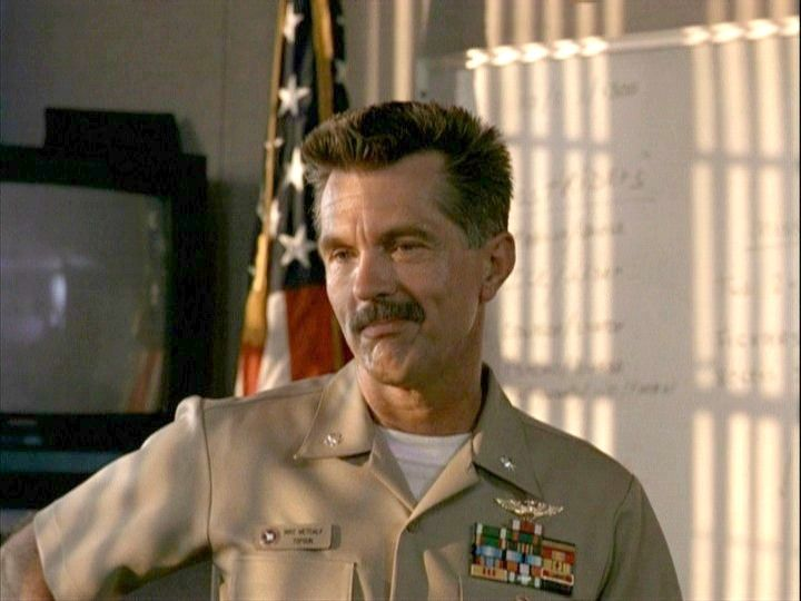 Tom Skerritt in Top Gun