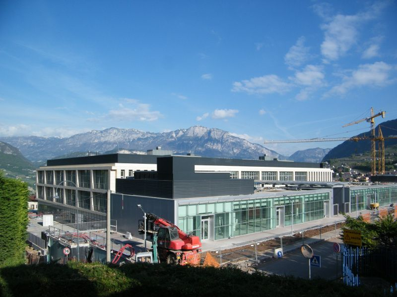 Trento university science faculty 2010