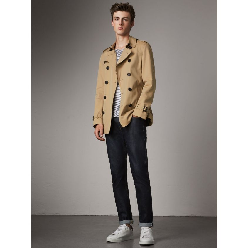 burberry trench corto