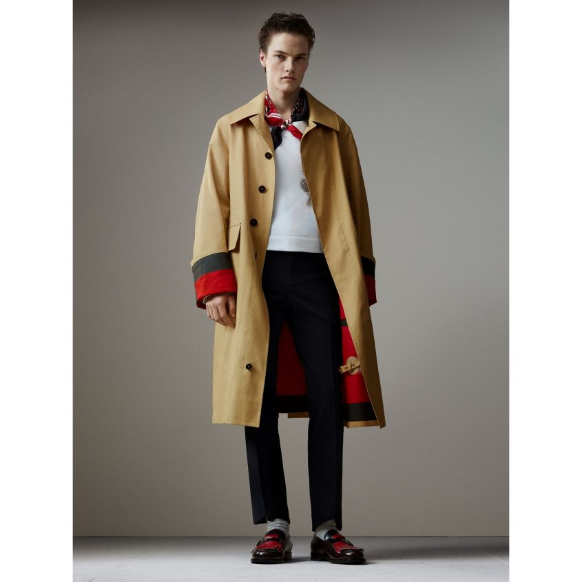 burberry trench lungo