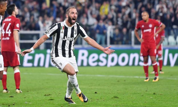 Soccer: Champions League; Juventus Olympiacos