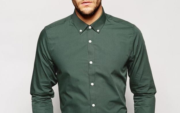 colletto button down