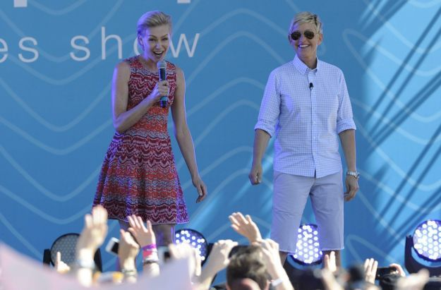Ellen De Generes fiiming shows in Australia