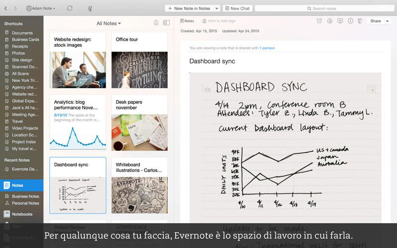 evernote app gratis mac