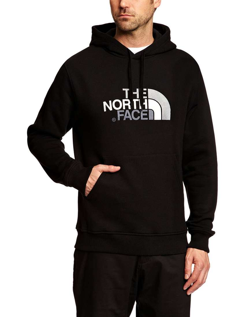 felpa north face uomo