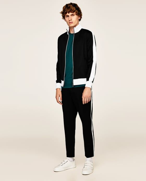 felpa sporty uomo Zara Black Friday 2017