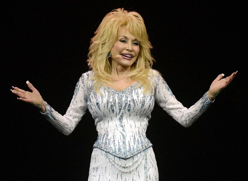 Dolly Parton in concert in Cologne