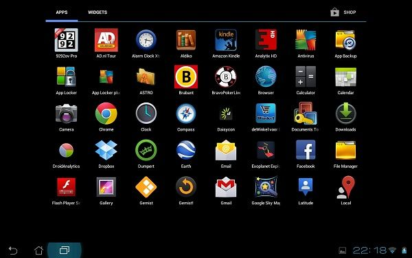 migliori app tablet android