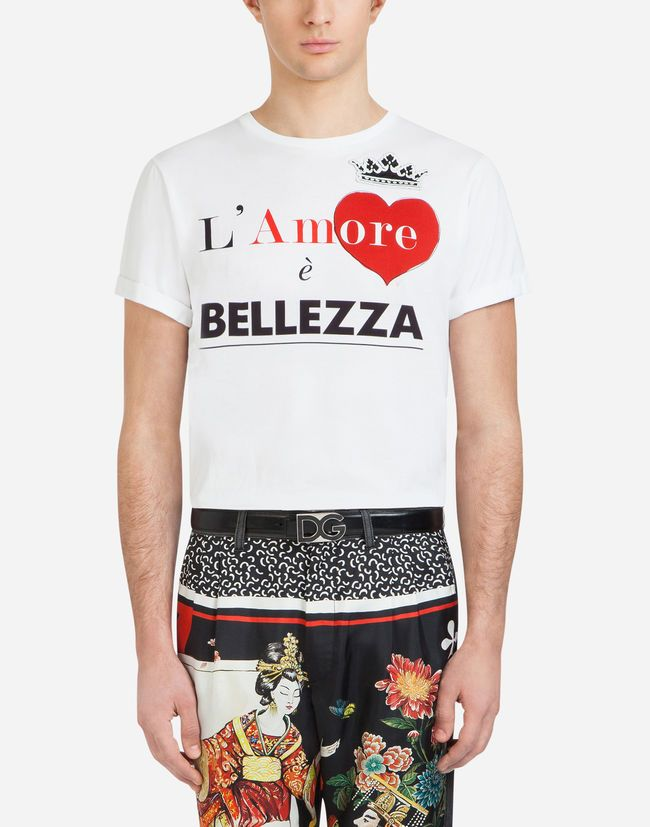 t shirt uomo primavera estate 2018  dg