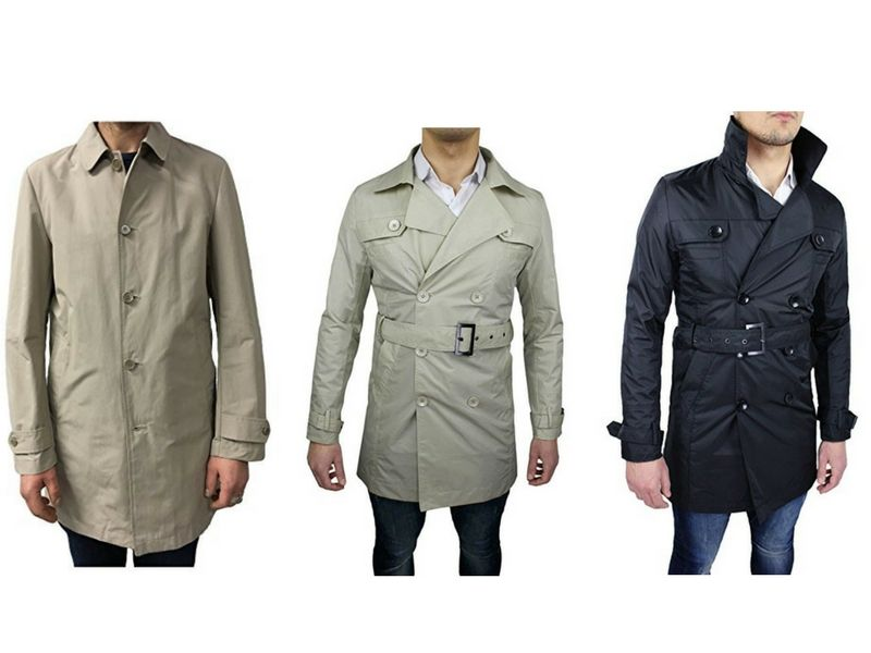Trench uomo: 6 modelli da comprare su Amazon