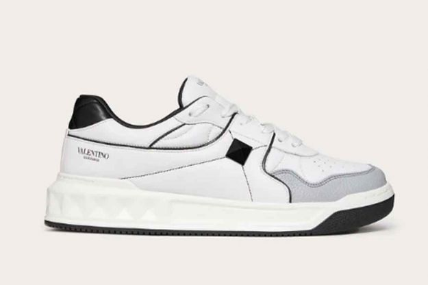 valentino one stud sneakers low top