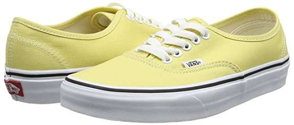 vans authentic giallo fluo