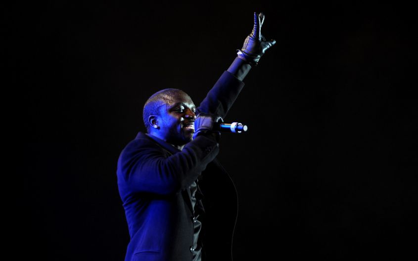 Akon live concert in Bangalore