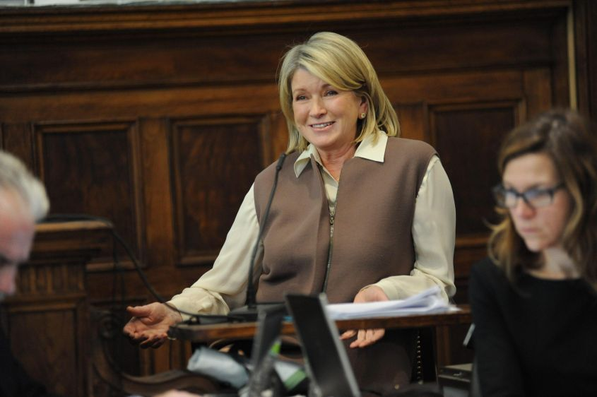 Martha Stewart testifies on direct examination