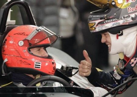 Vettel vince la Race of Champions in coppia con Schumacher