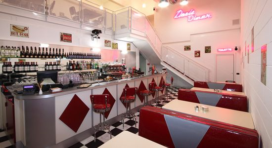 Doris Diner: atmosfera da Happy Days a Milano