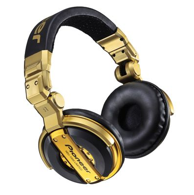 Cuffie Pioneer HDJ-1000, Limited Edition Gold